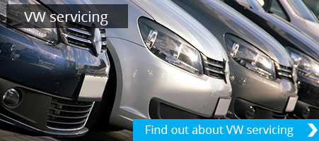 VW servicing Tewkesbury