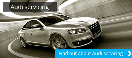 Audi servicing Tewkesbury