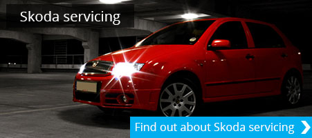 SKODA servicing Tewkesbury